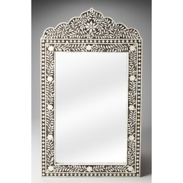 Victoria Bone Inlay Heritage Wall Mirror