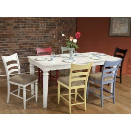 Stonebridge Antique White Rectangular Dining Room Set