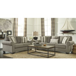 Baveria Fog Living Room Set