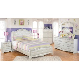 Zarollina Youth Upholstered Bedroom Set