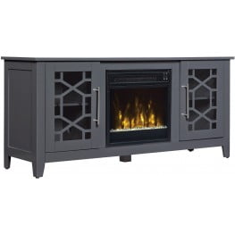 ClassicFlame Cool Gray Clarion TV Stand