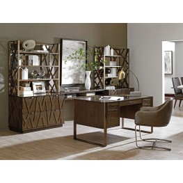 Cross Effect Bronze Structure Home Office Set