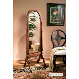 Plantation Cherry Cheval Tilt Mirror