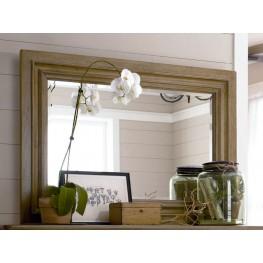 Down Home Oatmeal Landscape Mirror