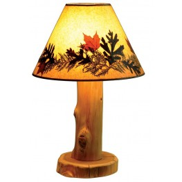 Cedar Large Shade Table Lamp