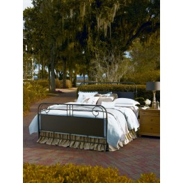 Down Home Oatmeal Garden Gate Twin Bed