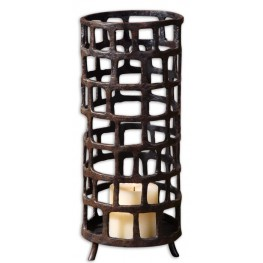 Arig Distressed Candleholder