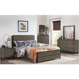 Vestavia Gray Panel Bedroom Set