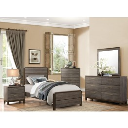 Vestavia Gray Youth Panel Bedroom Set