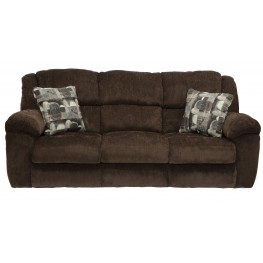 Transformer Chocolate Reclining Sofa