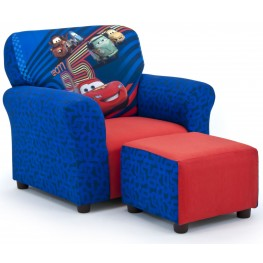 Disney's Cars 2 Club Chair and Ottoman