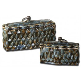 Neelab Ceramic Containers, Set of 2