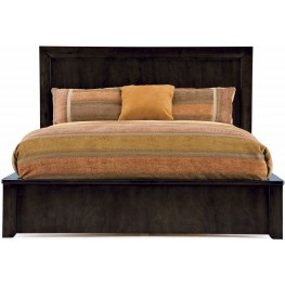Cordoba Brown King Low Platform Bed with Underbed Storage