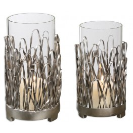 Corbis Candleholders Set of 2