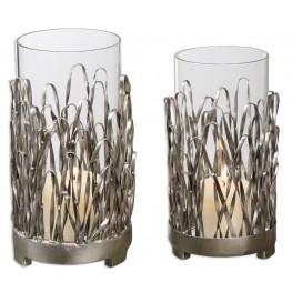 Corbis Candleholders Set of 2