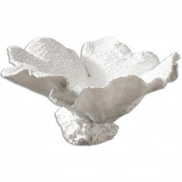 Ali Textured White Bowl