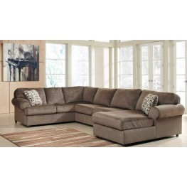 Jessa Place Dune Right Arm Facing Sectional