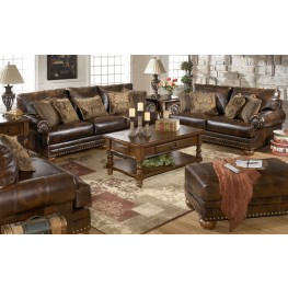 Chaling DuraBlend Antique Sofa & Chair Living Room Set