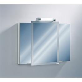 "Axara 39"" White Mirror Cabinet"