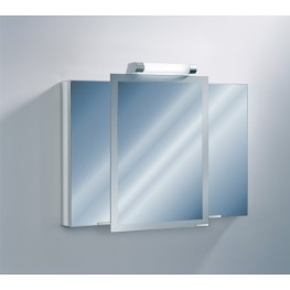 "Axara 39"" Hinge Left Anodized Mirror Cabinet"