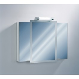 "Axara 39"" Hinge Right White Mirror Cabinet"