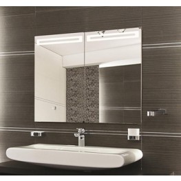 "Led 35"" Mirror Cabinet"