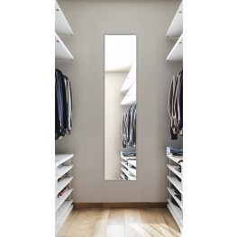 "Tall 60"" Surface Mount Left Hinge Mirror Cabinet"
