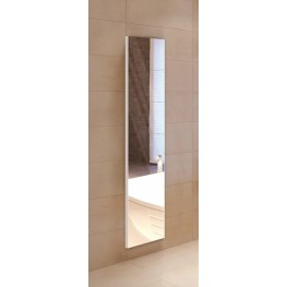 "Tall 60"" Recessed Left Hinge Deep Mirror Cabinet"