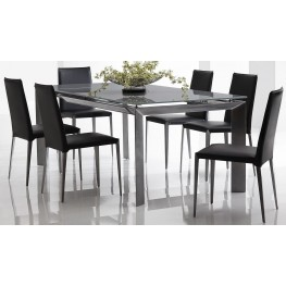 Rado Extendable Rectangular Dining Room Set