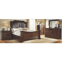 Egerton Adjustable Height Panel Bedroom Set