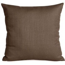 Sterling Chocolate Large  Down Insert Pillow