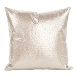 Ostrich Pearl Large  Pillow