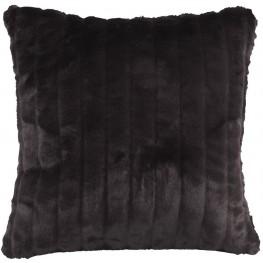 Mink Black Large  Down Insert Pillow
