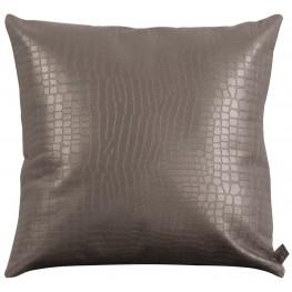 Gator Pewter Large  Pillow