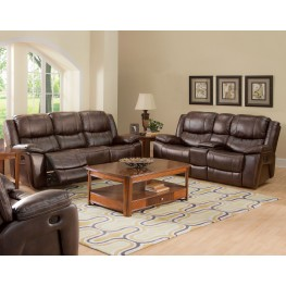 Kenwood Premier Brown Dual Reclining Living Room Set