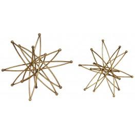 Constanza Gold Atom Accessories Set of 2