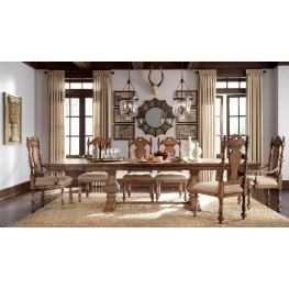 Accentrics Home Desdemona Rectangular Dining Room Set