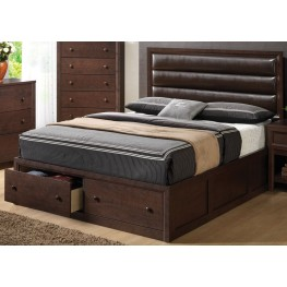 Remington Queen Upholstered Panel Bed