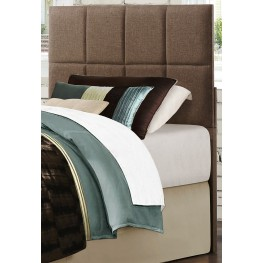Potrero Brown Fabric Queen/Full Headboard