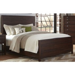 Lanchester Cocoa King Panel Bed