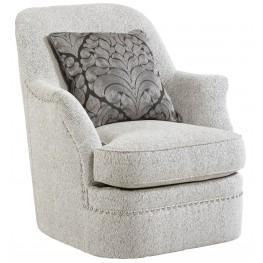 Amanda Sterling Swivel Chair