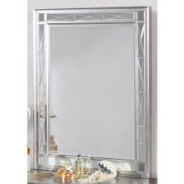 Leighton Metallic Mercury Vanity Mirror