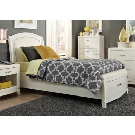 Avalon II Full Leather Storage Bed