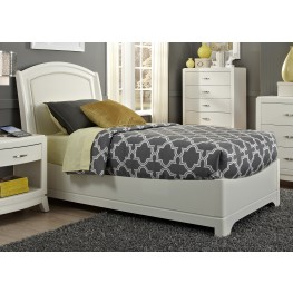 Avalon II Twin Leather Bed