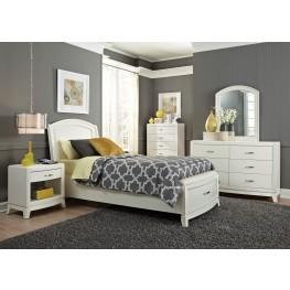 Avalon II Leather Storage Bedroom Set