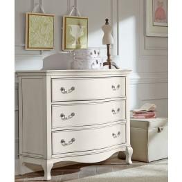 Kensington Antique White 3 Drawer Single Dresser