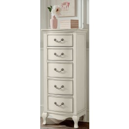 Kensington Antique White 5 Drawer Tall Chest