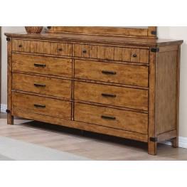Brenner Rustic Honey Dresser