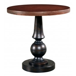 Whiskey Barrel OakRound Martini Table