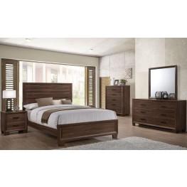 Brandon Brown Panel Bedroom Set